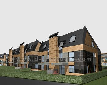"""ELEMENT HOUSES  - SVE RTINGSTAD""  RESIDENTIAL COMPLEX"